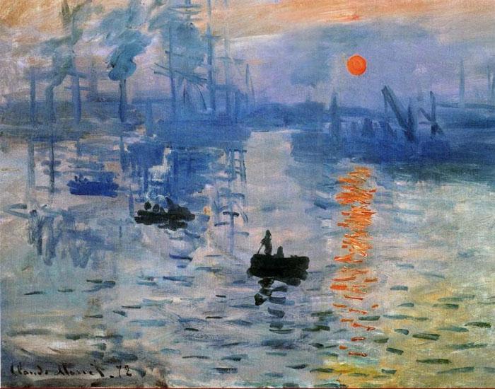"""Клод Моне """"Впечатление. Восход солнца"""""""